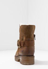 Felmini - JAKI - Winter boots - indigo/serraje santiago/tan - 5