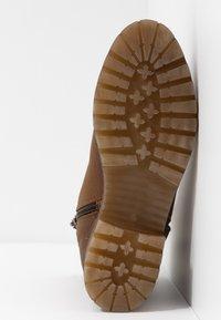 Felmini - JAKI - Winter boots - indigo/serraje santiago/tan - 6