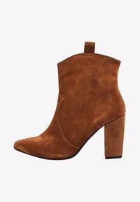 Felipa - High heeled ankle boots - marron - 1