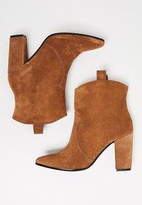 Felipa - High heeled ankle boots - marron - 2