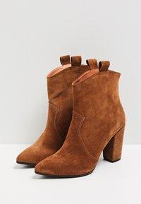 Felipa - High heeled ankle boots - marron - 4