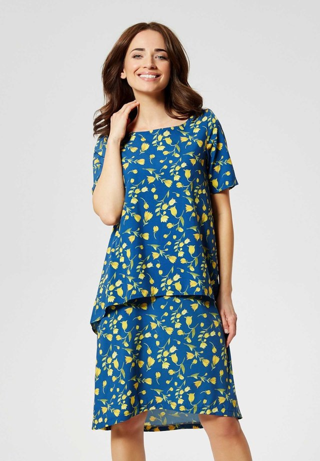 ROBE - Day dress - gelbe tulpen