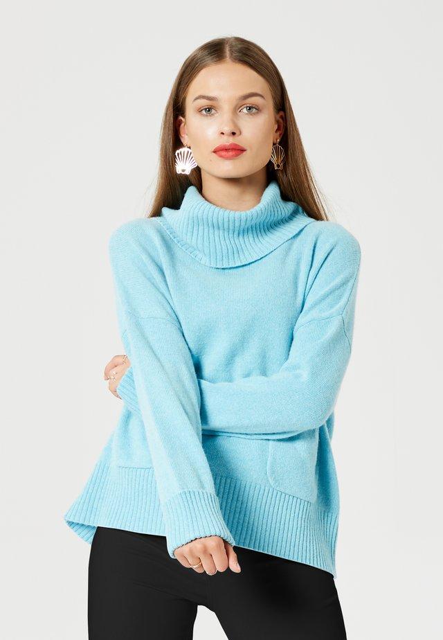PULLOVER - Sweater - blau