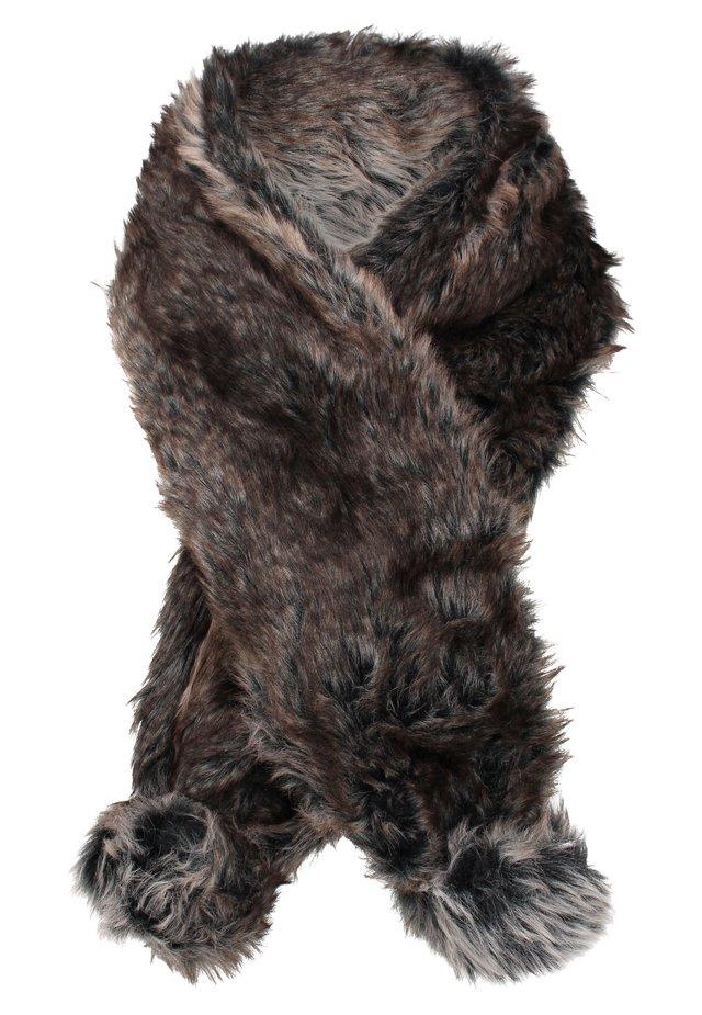 STOLA - Sjaal - dark brown