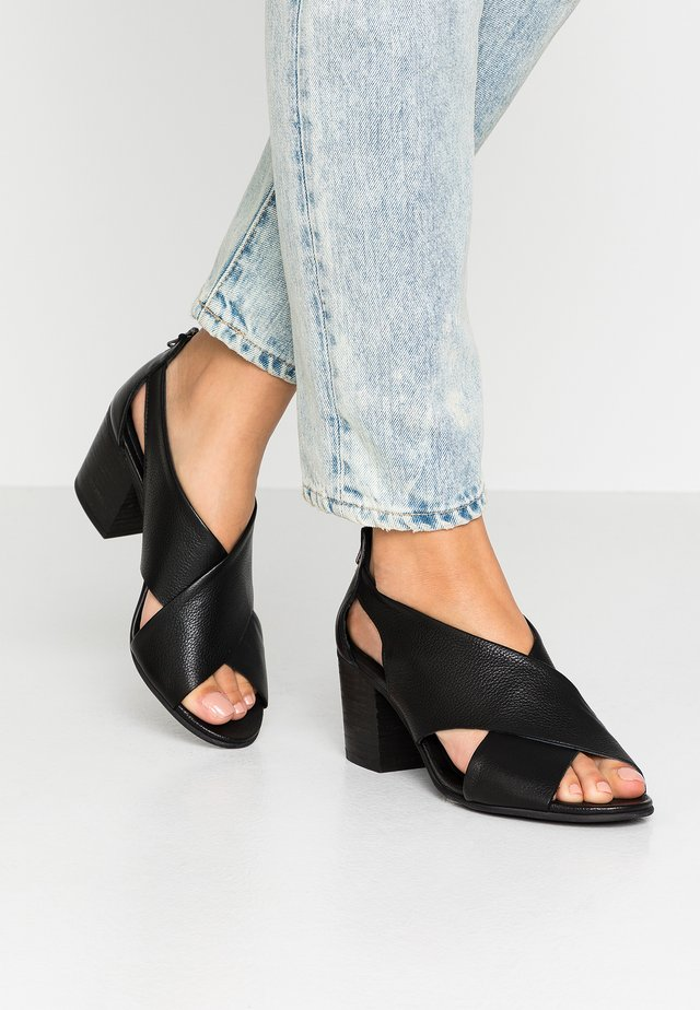 ARLENE - Sandals - light black