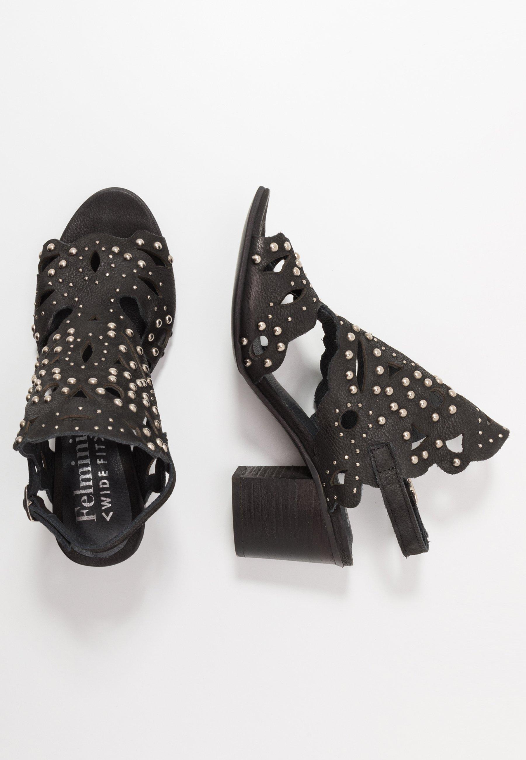 Felmini Wide Fit ARLENE - Sandaler - pacific black