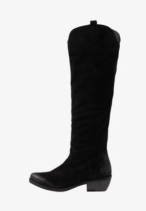 EL PASO - Cowboy/Biker boots - black