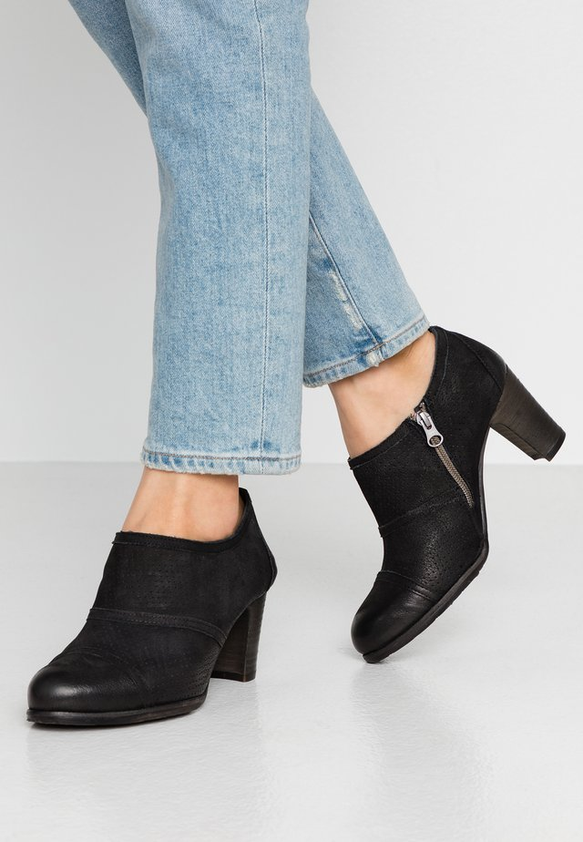 WANDA - Ankle boot - pacific black
