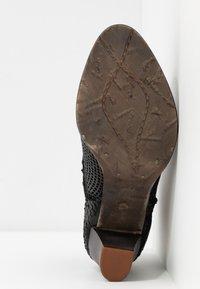 Felmini Wide Fit - OMEGA - Kotníková obuv - black - 6