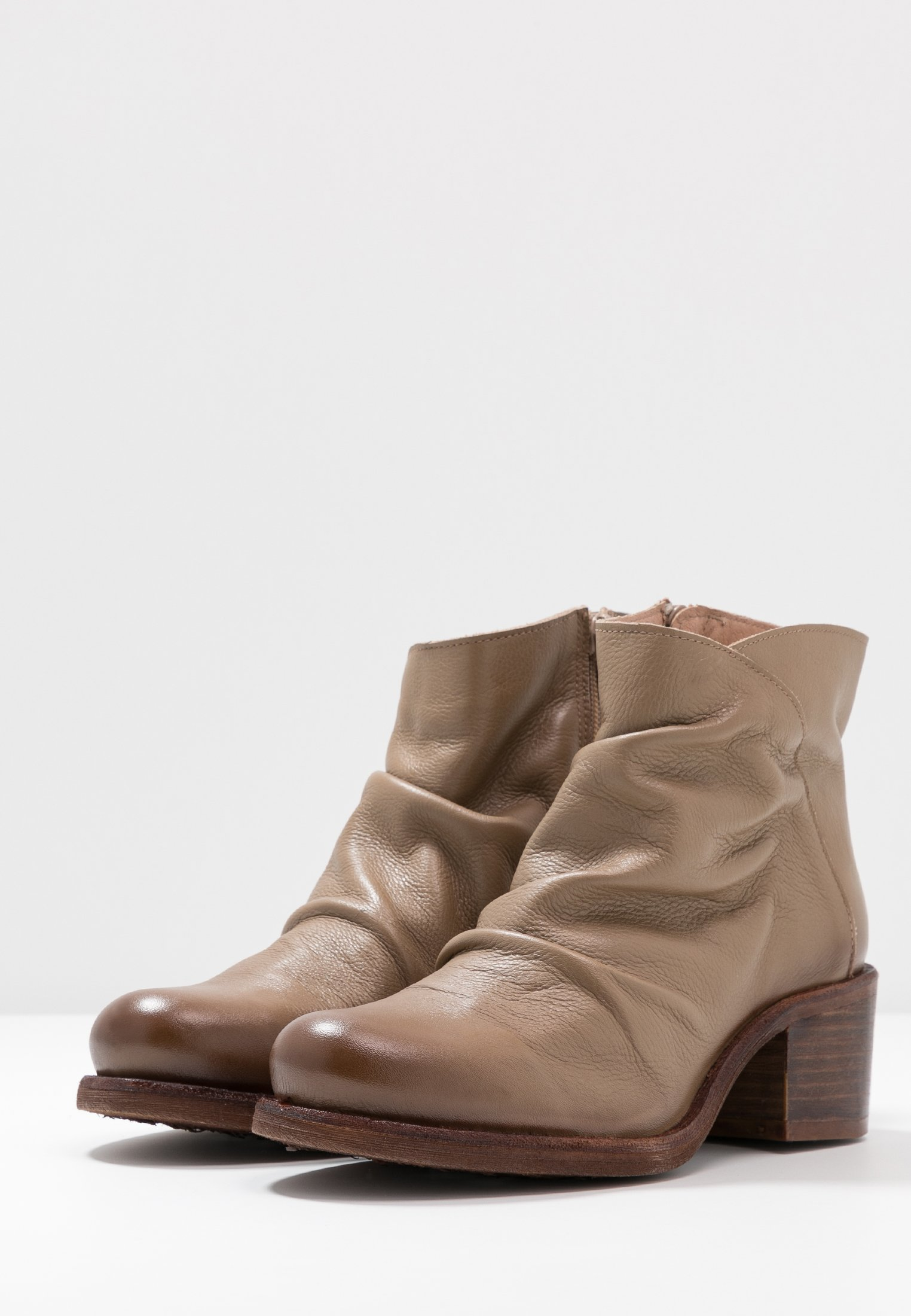 Felmini Wide Fit Giani - Boots À Talons Taupe