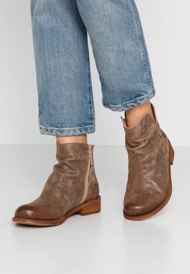BEJA - Boots à talons - noumerat camel
