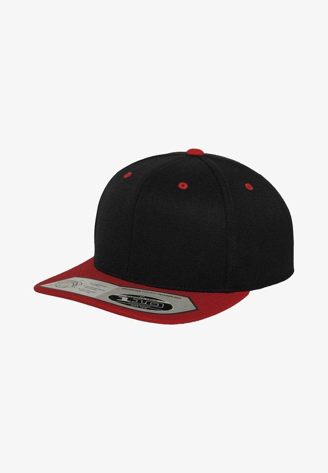 Cap - black/ red