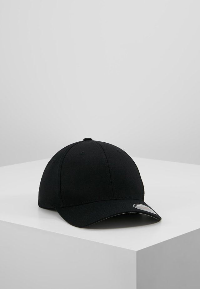 COMBED - Cap - black