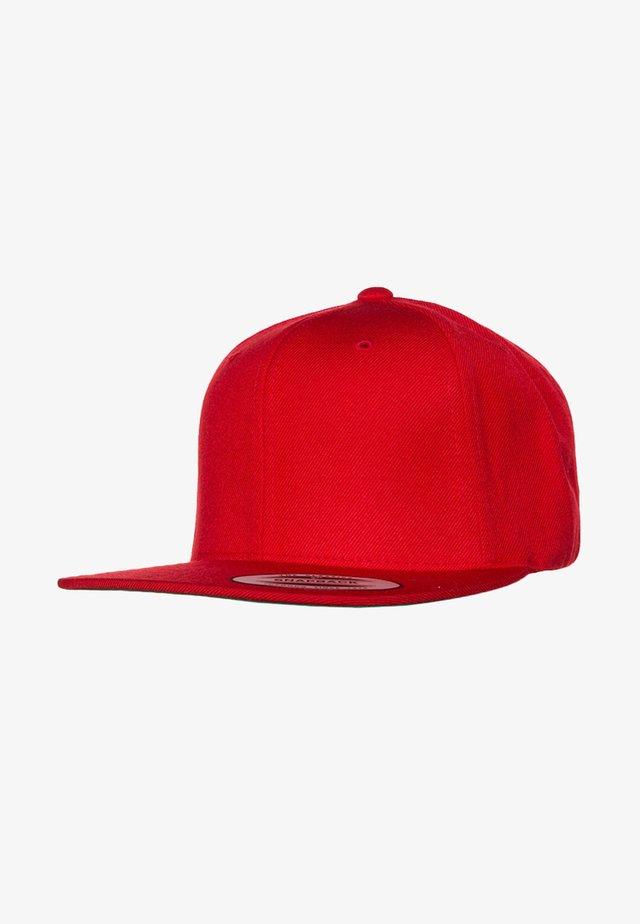 Casquette - red