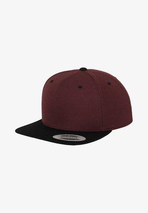 CLASSIC SNAPBACK 2-TONE - Cap - bordeaux, black