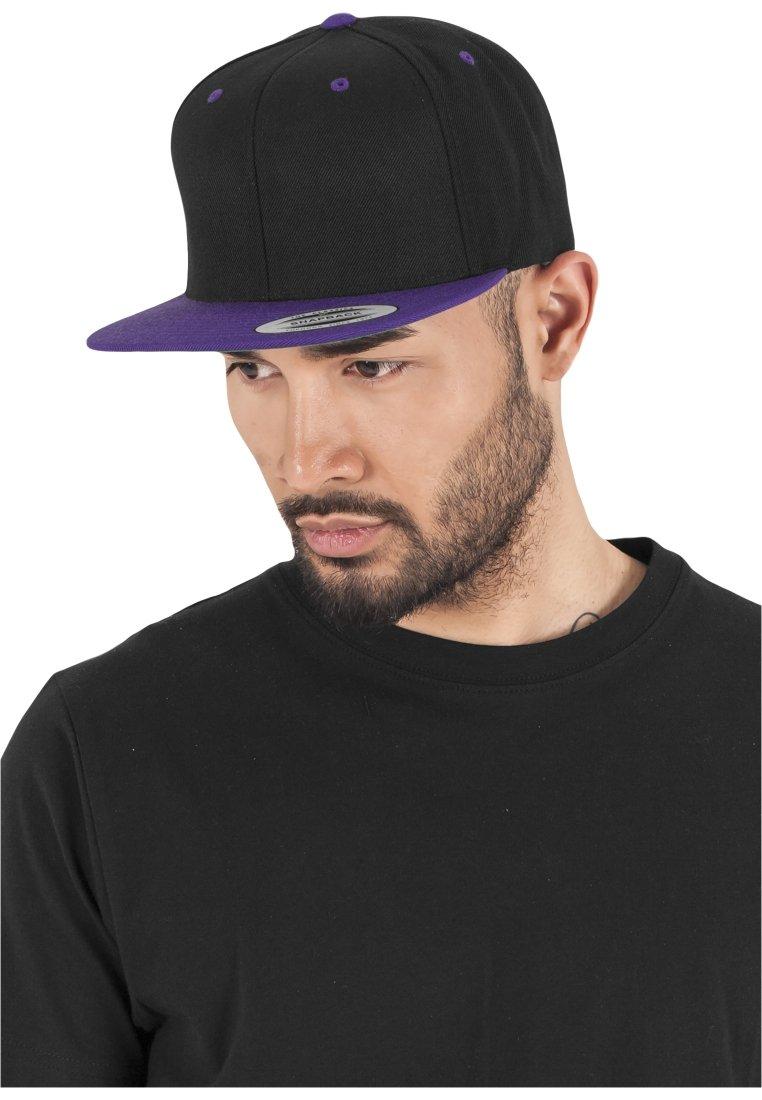 Black Flexfit Snapback Classic purple toneCasquette 2 OPkZTXuwi