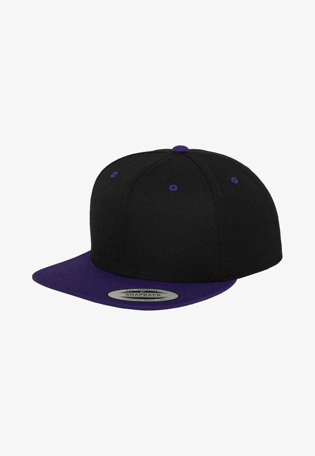 CLASSIC SNAPBACK 2-TONE - Kšiltovka - black/purple