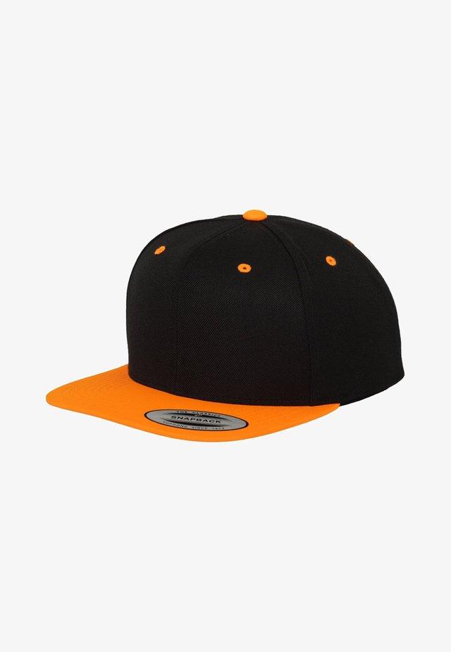 CLASSIC SNAPBACK 2-TONE - Casquette - black/orange