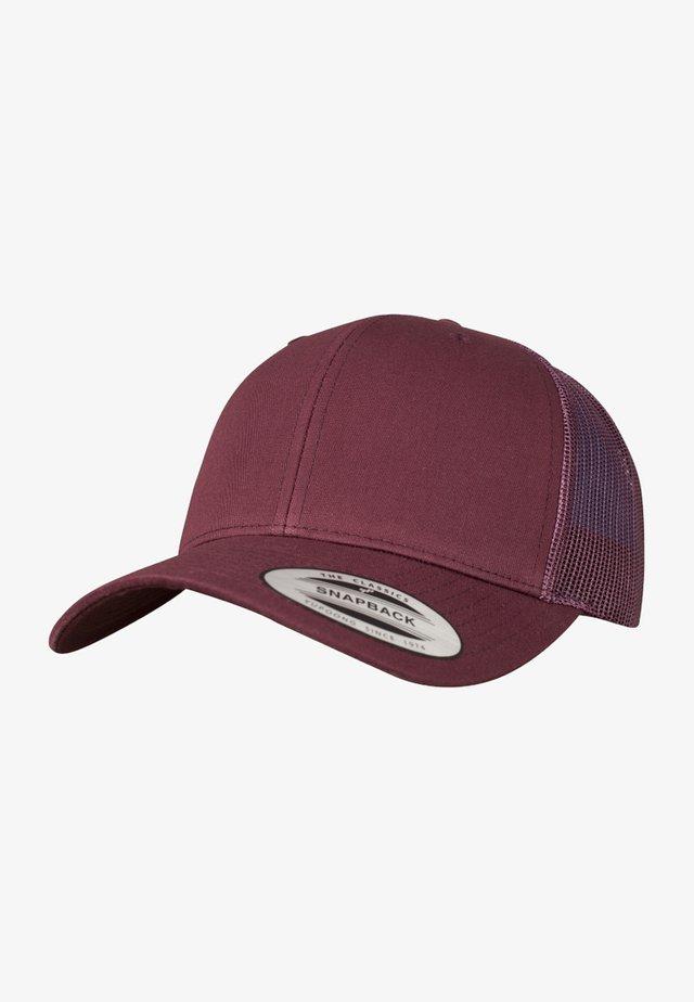 CLASSIC TRUCKER - Cap - maroon