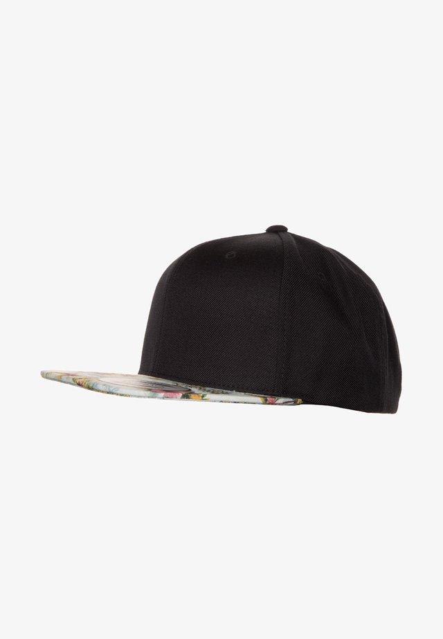 FLORAL SNAPBACK - Cap - mint