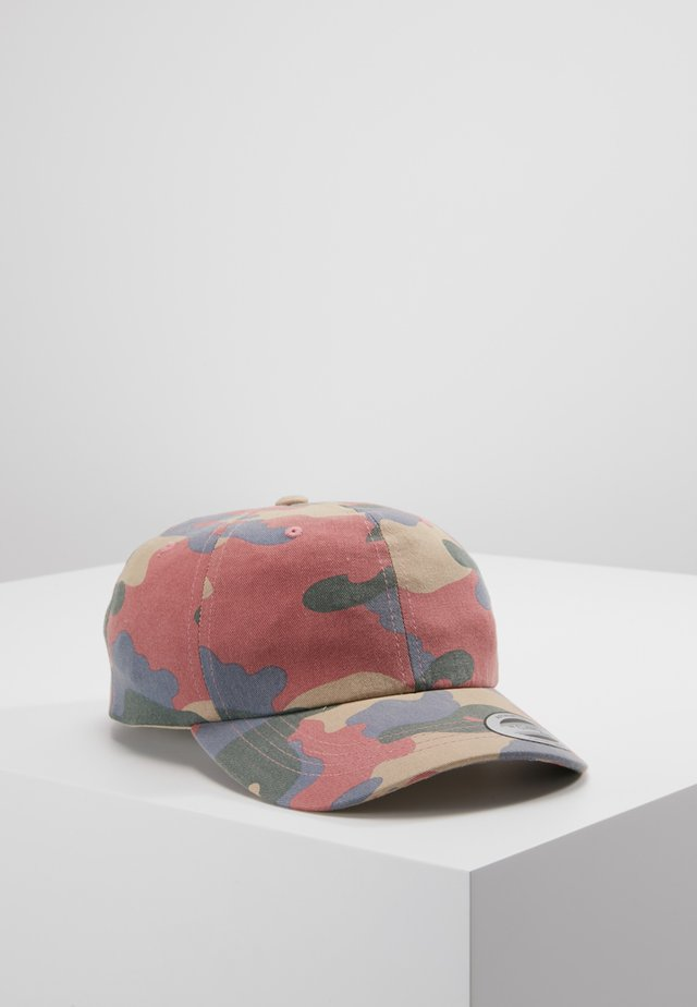 LOW PROFILE CAMO - Keps - roseblue