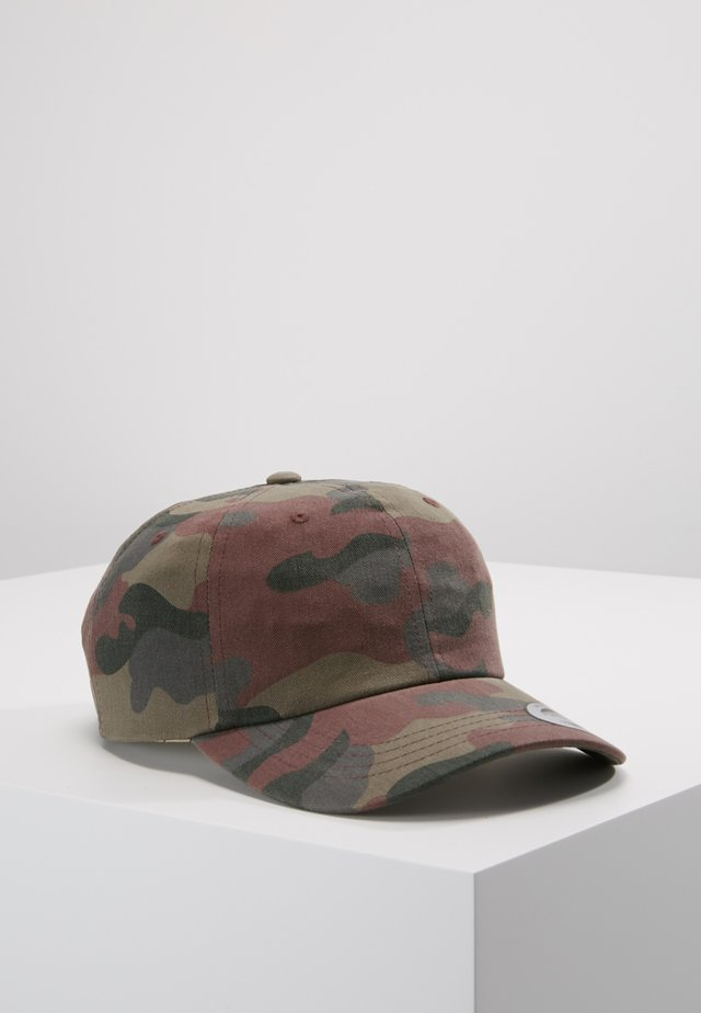 LOW PROFILE CAMO - Casquette - wood