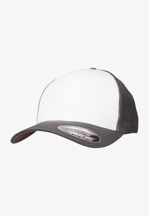 Cap - darkgrey and white