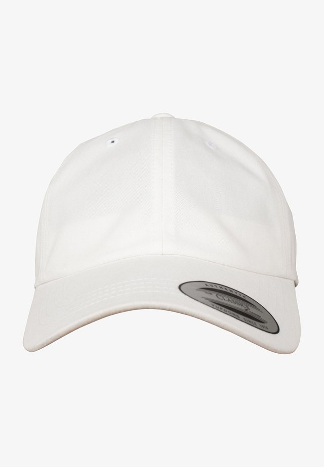 PEACHED COTTON TWILL DAD - Casquette - white