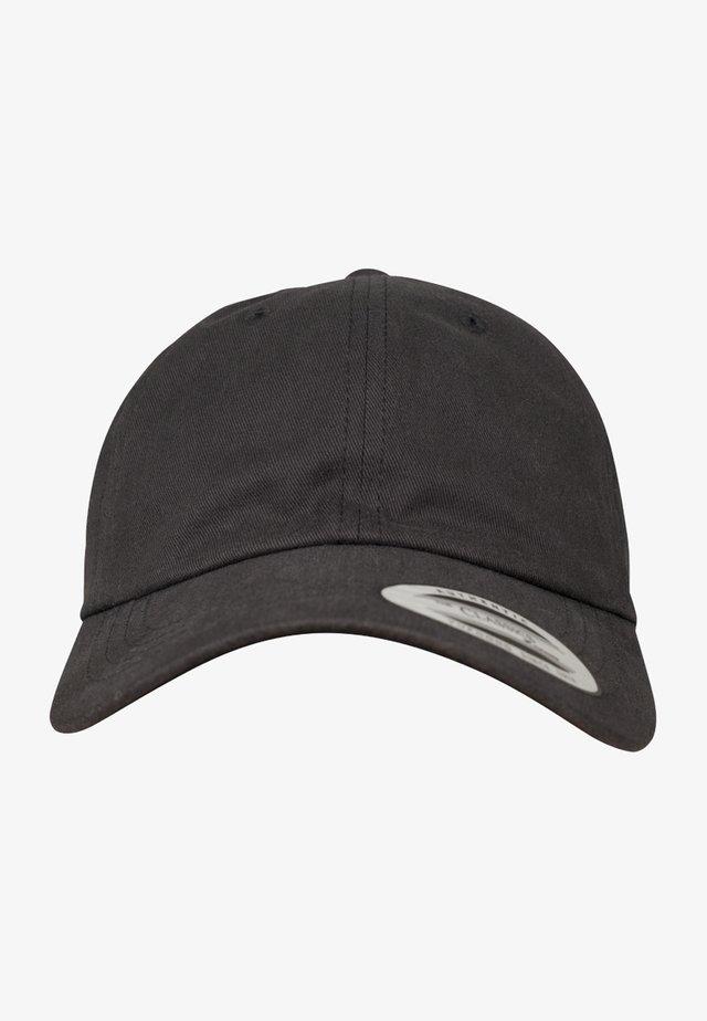 PEACHED COTTON TWILL DAD - Cap - black