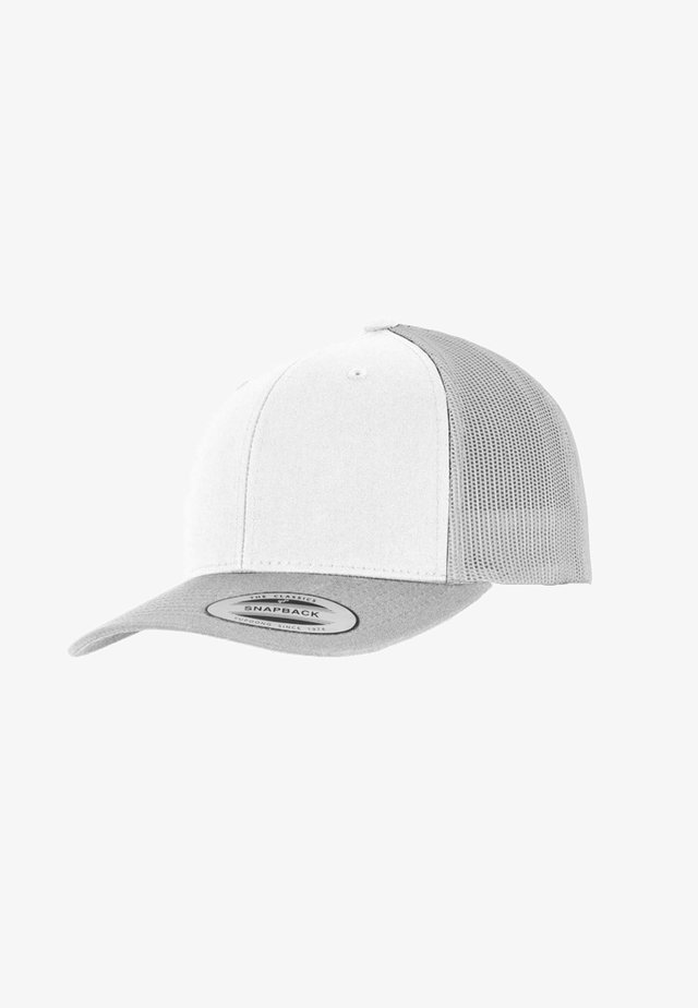 RETRO TRUCKER - Cap - silver/white