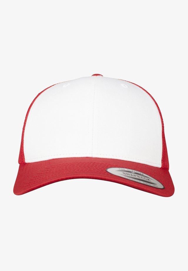 RETRO TRUCKER - Cap - red/white