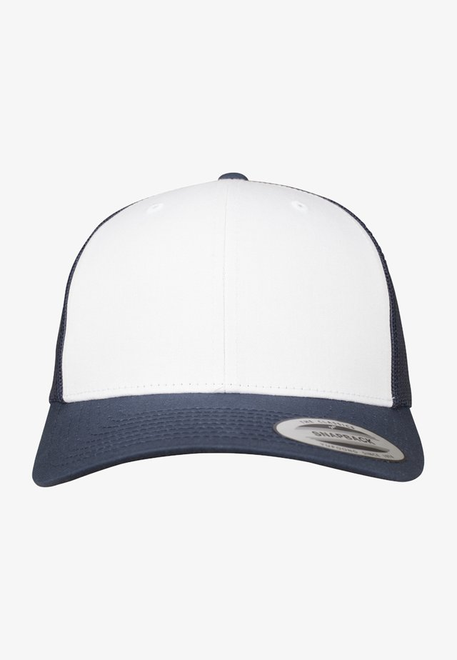 RETRO TRUCKER - Cap - navy/white