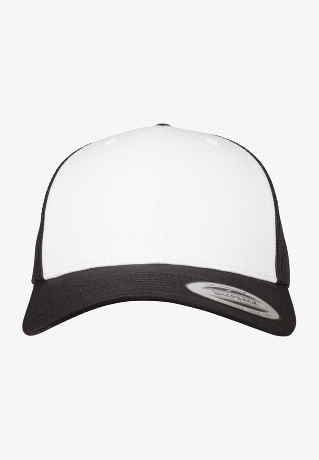 RETRO TRUCKER - Cap - black/white