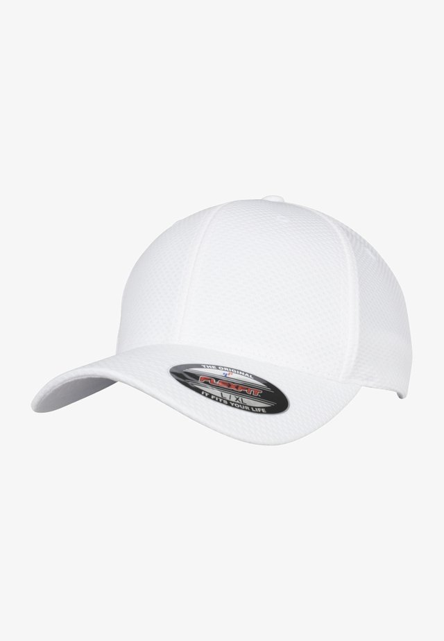 FLEXFIT 3D HEXAGON - Keps - white