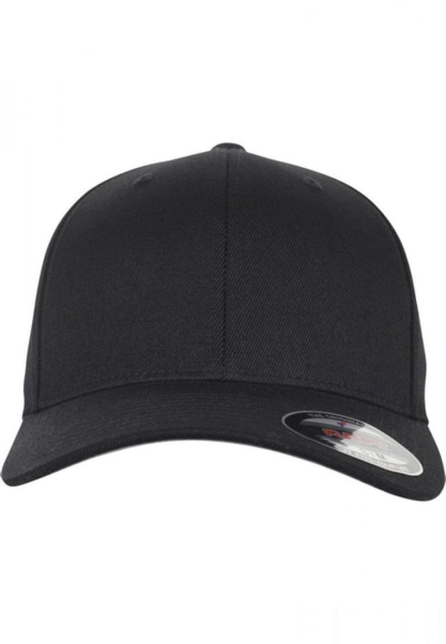 FLEXFIT WOOL BLEND - Caps - black