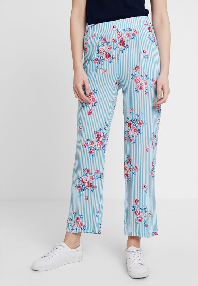 PANTS - Stoffhose - miami blue