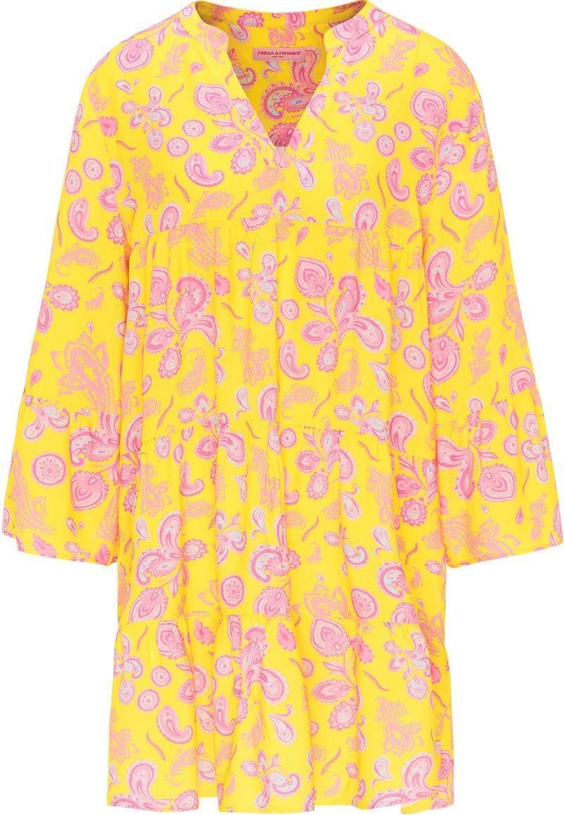Frieda & Freddies - DRESS - Day dress - lemon