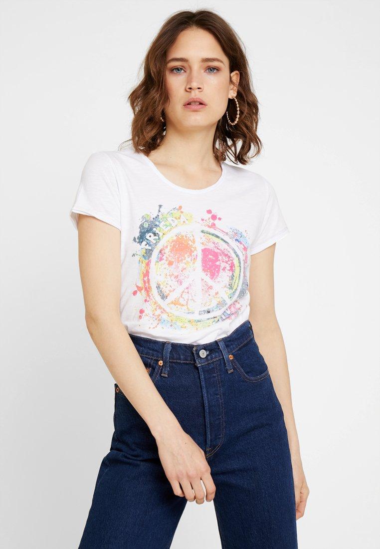 Frieda & Freddies - T-shirt con stampa - white