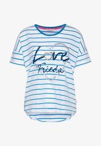 Frieda & Freddies - Print T-shirt - bubble blue - 0
