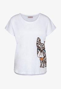 Frieda & Freddies - Print T-shirt - white - 0