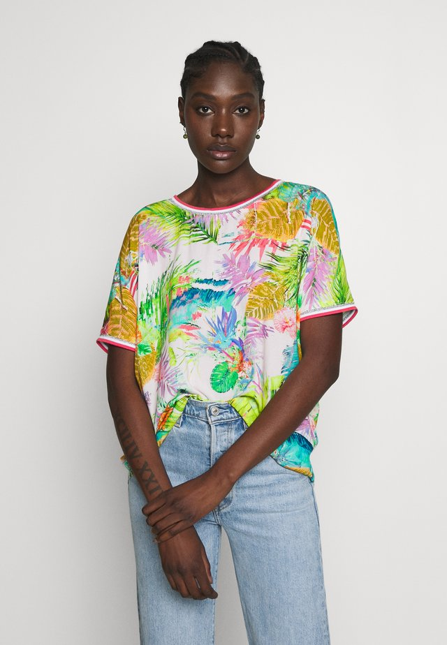 Bluse - multi-coloured