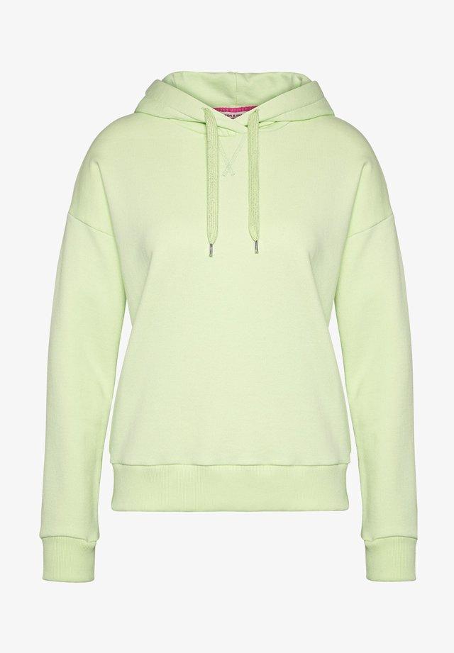 Hoodie - lime green