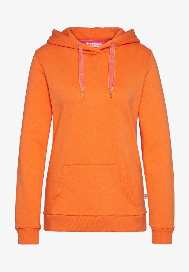 Hoodie - carrot