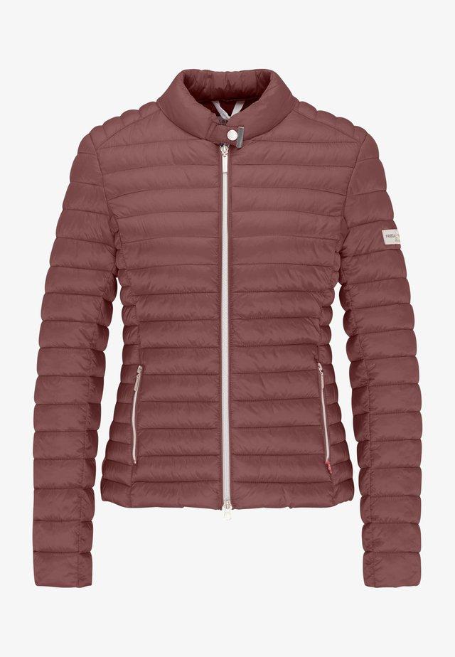 Winter jacket - rose wood