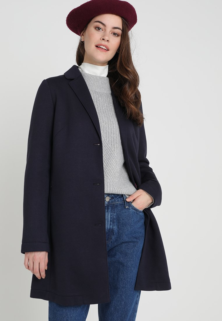 Frieda & Freddies - Short coat - dark blue