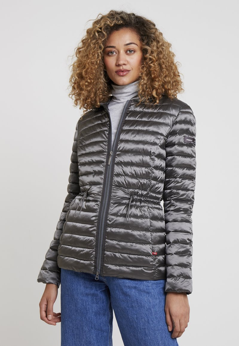 Frieda & Freddies - FUNCTIONAL FILLED JACKET - Giacca da mezza stagione - iron