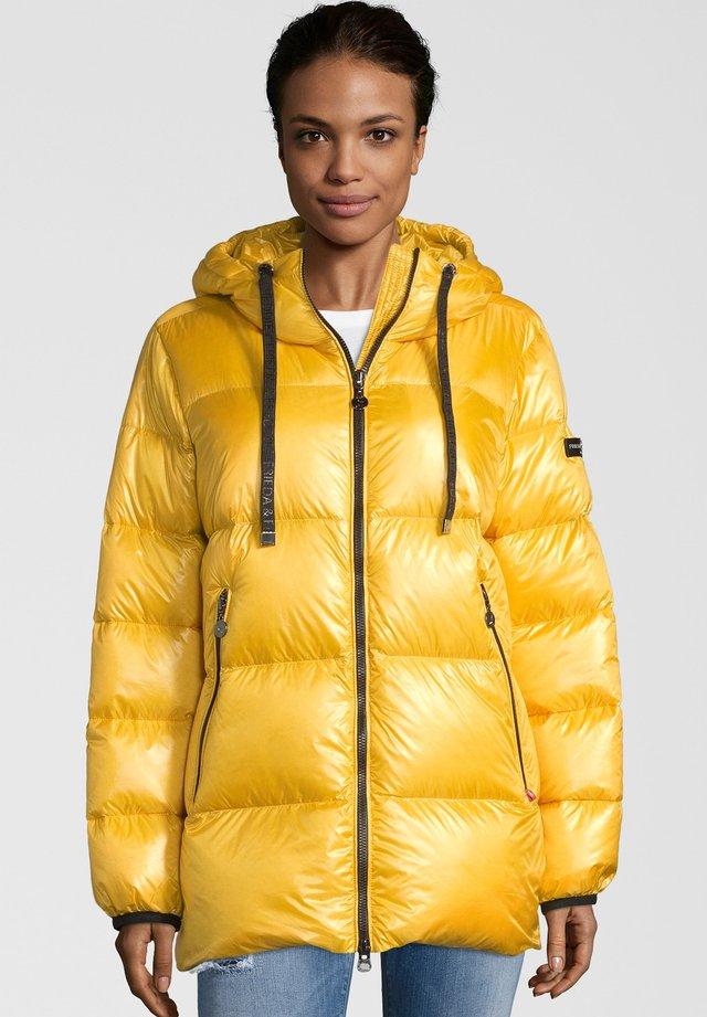 JACKET - Down coat - yellow