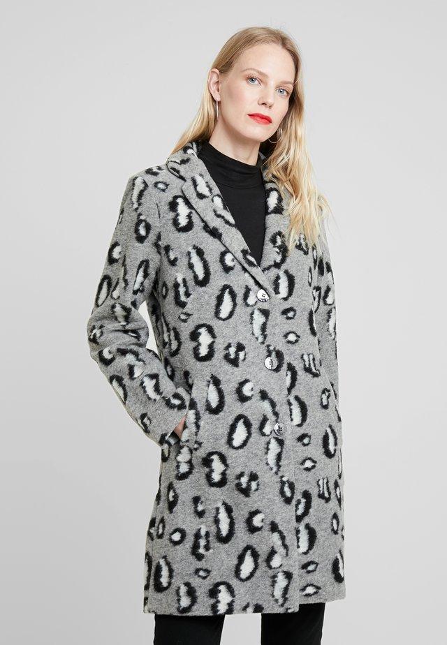 COAT - Classic coat - iron