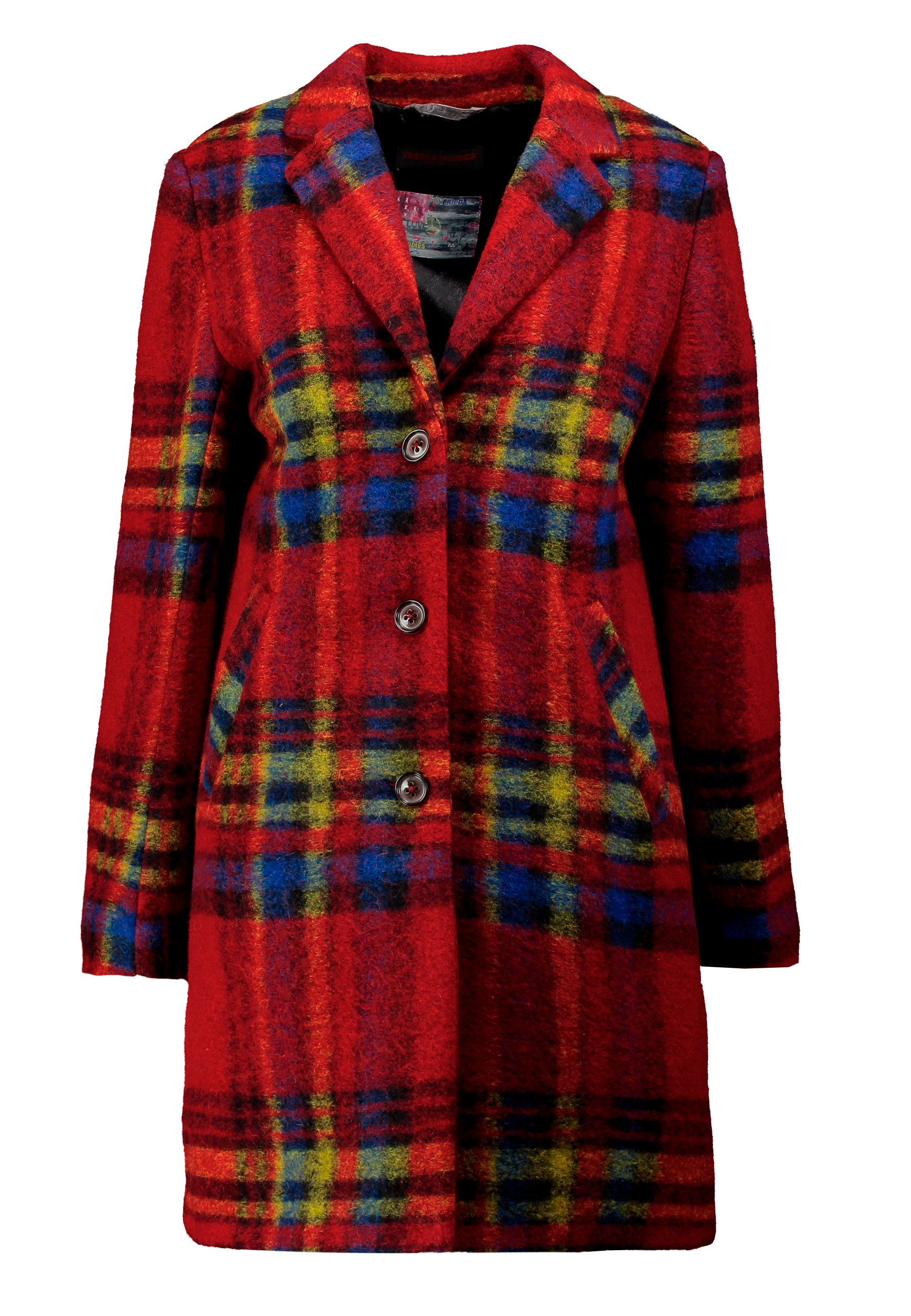 Frieda & Freddies COAT - Krótki płaszcz - cherry red
