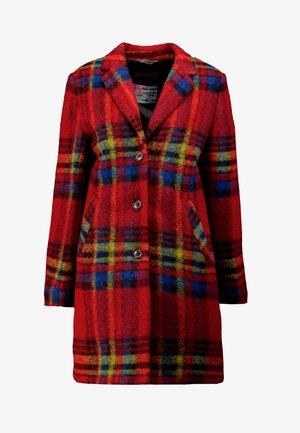 COAT - Short coat - cherry red